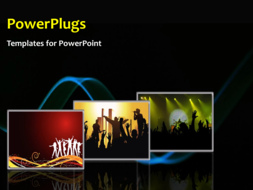 PowerPoint Template - A party background